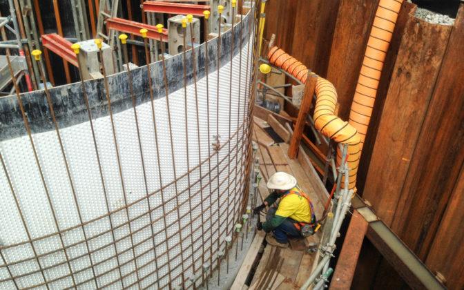 Paul Stewart Lwa Pump Station Steel Work On Pump Station