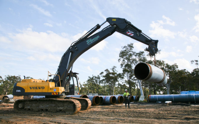 Machine Lifting Pipe