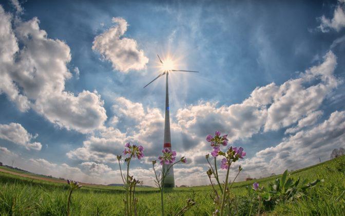 Renewables wind turbine