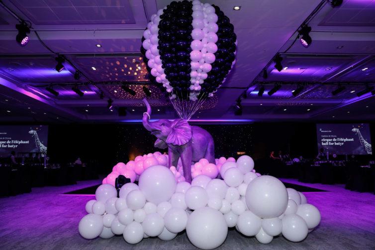 Cirque de l'elephant Ball for batyr