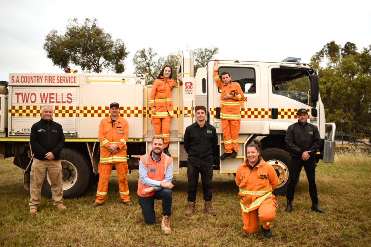 Recycled Water Donated to SA Country Fire Service
