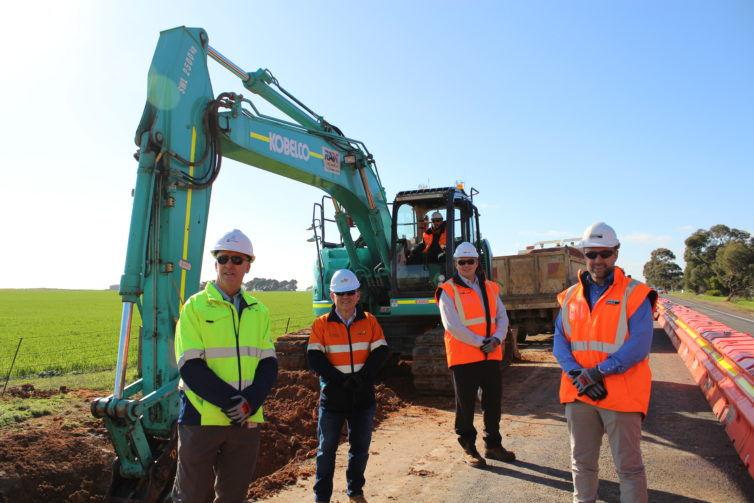 Works commence with SA Water