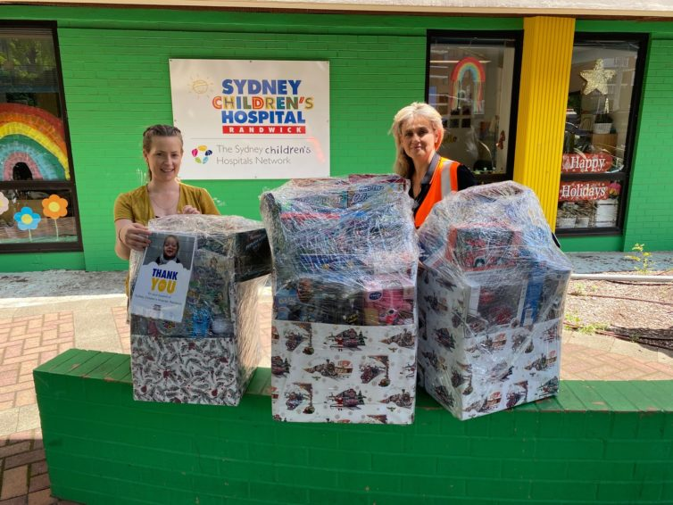 Diona's Christmas Donations for Sydney Children's Hospital