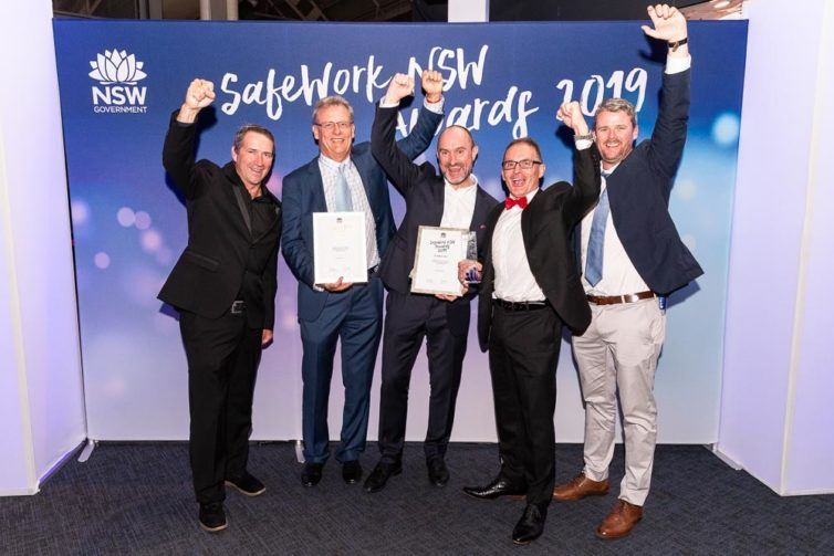 Diona recognised at SafeWork NSW 2019 Awards