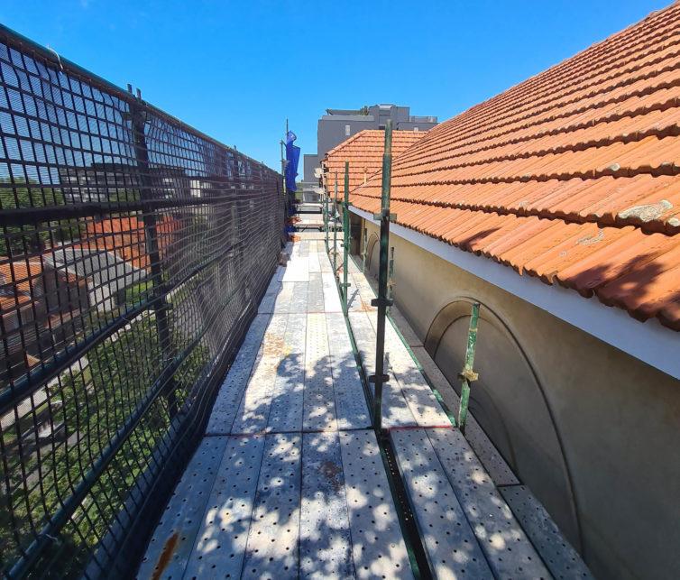 Crows Nest Substation Roof Refurbishment Works