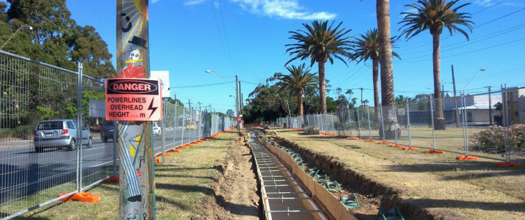 Adelaide Central Reinforcement Project