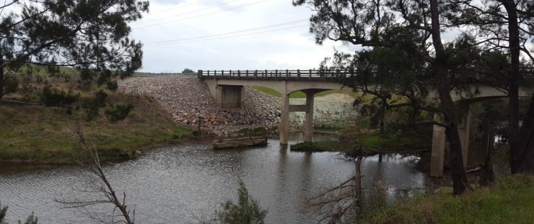 Gresford Road Bridge Over Glendon Brook