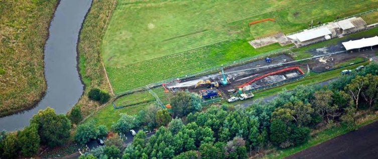Lilydale Gas Pipeline
