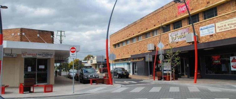 Singleton Town Centre Upgrade